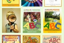 Alphabet Activities / Lots of fun, exciting and varied alphabet activities for preschoolers and kindergarten kids. You will find everything from great alphabet books to alphabet printables, crafts, worksheets, stencils, cards etc.   A playful toolbox with lots of inspiration to make learning the ABC as natural and fun as possible.   Enjoy!