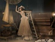 The Artist's House; a fashion editorial shoot / A #moody #dark #gothic #fairytale #styled #photoshoot collaboration with photographer Cheng Han and a great team of creatives and makers. #antiques #atmospheric #storyteller