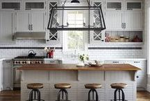 Homey Touches | Decor / From stacked books to white kitchens and industrial accents, home décor inspiration and ideas.  / by Vanessa | Plaid & Paleo