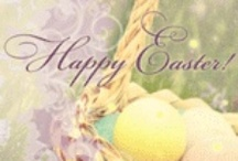 "Happy Easter! / Ideas, recipes, and greetings to celebrate Easter with all of your favorite ""peeps."" View our entire assortment of Easter ecards here - http://bit.ly/NrALku / by American Greetings"
