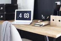 Desks and workspaces