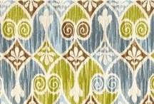 Ikat Design / I love this style of fabric design. Must try!