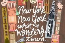 New York, New York, it's a helluva town!