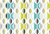 RETRO Fabric Design / #surfacepattern #surfacedesign #surfacepatterndesign #vintage #creative #colorful #fun #home #decor #craft #quilt #sew