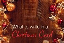 Christmas Cards, gift ideas and more! / Christmas cards and ideas to inspire a magical holiday season!
