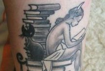 Books get under your skin / Book themed tattoos