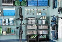 Garage Ideas. / by Hannah Ballew