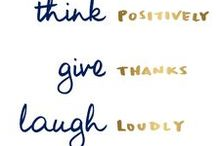 Gratitude Attitude / Learning to be grateful everyday.