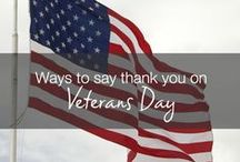 Veterans' Day Cards and Ideas / Ideas and cards to celebrate an important Veteran in your life. Happy Veteran's Day!
