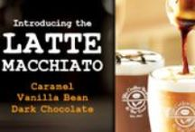 Latte Macchiato / Introducing Latte Macchiatos! Our latest line of espresso-based beverages, available through March 2, 2014 in participating locations nationwide. Customers can enjoy three varieties of the new beverage: Caramel, Vanilla Bean, and Dark Chocolate!