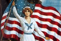 A Grand Ol' Flag / The Red White & Blue / by Susan DeLucca