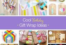 Gift Wrapping Ideas / Easy, adorable gift wrapping ideas for any occasion!