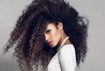 wavy hair or curly hair