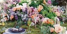 Woodland Wedding Inspiration / Outdoor wedding inspiration - rustic, woodland, countryside.