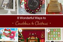 Countdown To Christmas Calendar Ideas