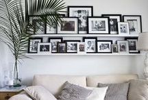 Wall Galleries / An inspiration board created for home style focused on designing wall galleries.