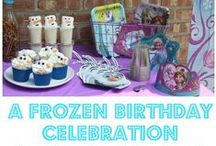 Frozen Birthday Party Ideas / Frozen birthday party ideas, decorations, invitations and more!