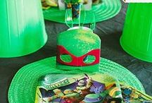 Teenage Mutant Ninja Turtles Birthday Party Ideas / Fun and easy Teenage Mutant Ninja Turtle Birthday Party Ideas!