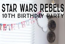 Star Wars Rebels Birthday Party Ideas