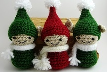Christmas - Crafts / Ideas and pattern. A good inspiration when planning what to do before the holiday sets in!