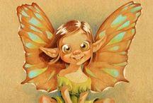 Fairy's, Trolls, Pixie's, Gnomes, Dwarfs / by Vanessa Ritter