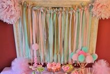 Fairy Princess Party / Beautiful party goods and inspiration for your little fairy princess's magical day!