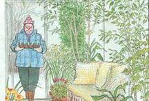 """Giardini e giardinieri in copertina / la bacheca di """"Giardini e giardinieri in copertina"""" un post del blog Un Giardino In Diretta  leggi qui: http://giardinoindiretta.blogspot.it/2014/01/giardini-e-giardinieri-in-copertina.html"""