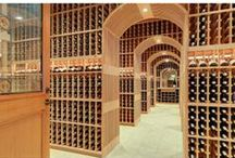 Home Decor: Wine Lovers / In California's Wine Country, wine is a way of life! Our collection of the best wine cellars, wine storage ideas, and items made from wine bottles and barrels.