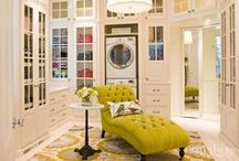 Home Decor: Closets / Dress up your house with the ultimate tricked out closet or dressing room!