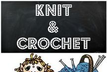 Knit and Crochet Creations / Find unique Knit and Crochet Fashions, accessories, decor and more here! Truly talented artisans with one of a kind creations!