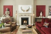 """2015 Color of the Year: Marsala / Ideas for decorating with Marsala, the Pantone Color of the Year 2015: """"A naturally robust and earthy wine red, Marsala enriches our minds, bodies and souls."""""""