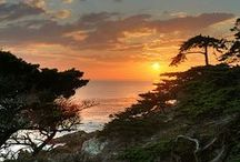 Monterey Peninsula Love / The Monterey Peninsula is located on the central California coast and comprises the cities of Monterey, Carmel, and Pacific Grove, and unincorporated areas of Monterey County including the resort and community of Pebble Beach. #LoveWhereYouLive