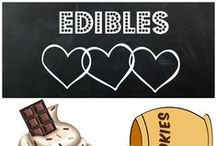 Edibles / Handmade Edibles you will love! Indulge yourself in home made goodness! Find these treats at the On Fire for Handmade Gift Guide