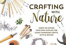 Crafting With Nature / Use the hastag #CraftingWithNature and I will be repinning my favorites to this board!  My book, Crafting With Nature, is now available for pre-order on on Amazon (currently only $14.99!) , with a price guarantee if there is a drop between now and March 22nd when the book officially releases.  The book is also available on BarnesandNoble.com for $14.99.   Official book release date is March 22nd, 2016. / by Amy Renea