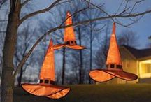 Halloween Home / This is where costumes are sewn, screams are filled with joy and memories are made. This is your Halloween home. Here we present the best decorations, entertaining ideas, party supplies and recipes for Halloween at home. #HalloweenHome