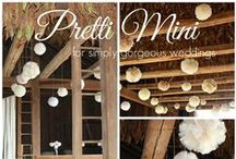 Country Chic Wedding / Country Chic Wedding, Shabby Chic Wedding, Rustic Wedding, Barn Wedding, Trendy wedding, Wedding trends, Barn wedding, farm wedding, country wedding, wedding inspiration, wedding ideas, tip for a country chic wedding, how to create a gorgeous wedding, wedding details, lace, tulle pom poms, lace pom poms