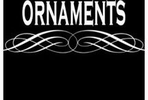 ORNAMENTS / Christmas ornaments, ornament as gifts, decor and presents. Tutorials for DIY and handmade ornament ideas.