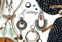 Earrings / Handmade Earrings in all styles and colors you will love to wear!