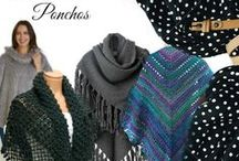 Wraps Shawls Ponchos / Handmade knit and crochet wraps, shawls and ponchos for every woman!