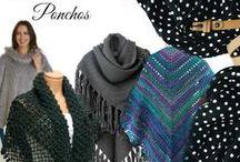 Wraps Shawls Ponchos / Handmade knit and crochet wraps, shawls and ponchos for every woman!