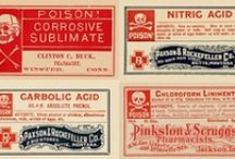 Vintage Labels, Logos & Type