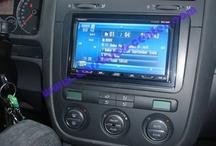 Volkswagen Golf / Raccolta di installazione di Media Station, navigatori, sensori di parcheggio ed altri accessori su Vw Golf