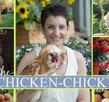Pinning with my PEEPS! ~The Chicken Chick / Keeping it real...with chickens.
