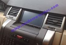 Range Rover Sport / Range Rover Sport. Installazioni di navigatori, interfacce Audio Video, bluetooth, monitor a cielo e sintonizzatori DVBt.