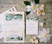 wedding stationery. / Wedding stationery inspiration for romantic weddings.