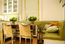 Kitchen/ Banquette  / by Lisa