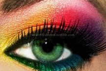 Eyeshadow - Colors - Rainbow / by Nikki Linares