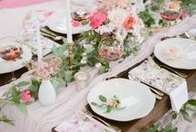 bridal showers. / Bridal shower inspiration for the bride-to-be.