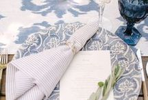 wedding place settings. / Wedding place setting inspiration for your wedding reception.