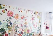 nursery. / Nursery inspiration...one day! ;)